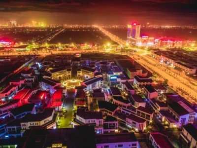 扮靓 江苏如皋扎实打造城市亮化精品工程