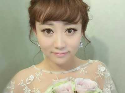 齐刘海新娘盘发古装 新娘齐刘海发型图片
