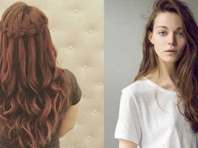 大学生烫发发型图片 学会这招烫发就完美了