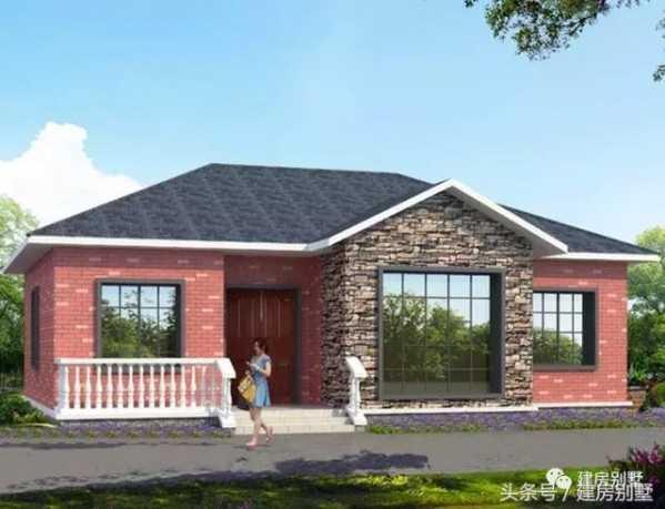 农村建房的设计 6款农村盖一层平房的设计图